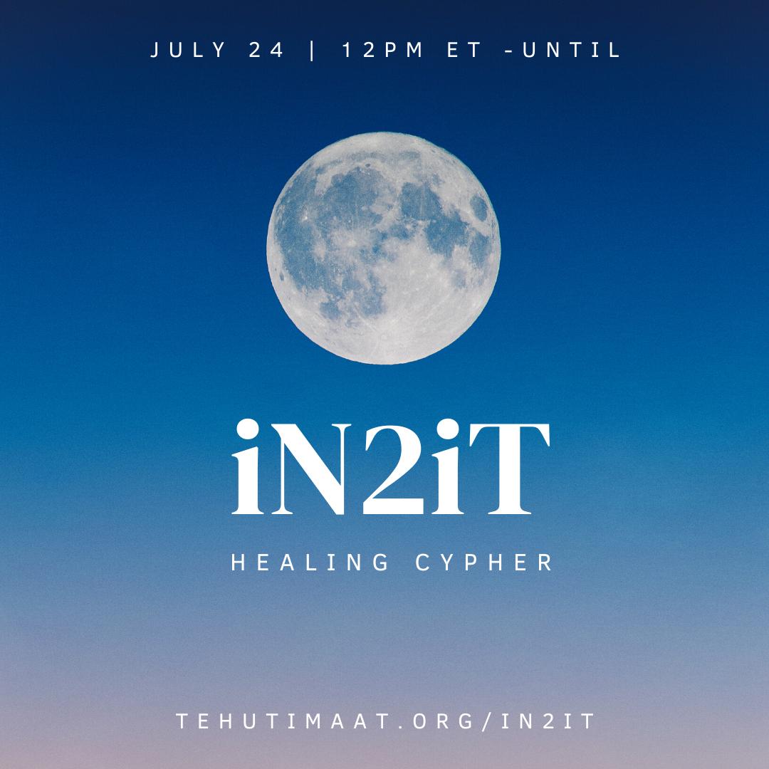 IN2IT Full Moon Healing Cypher